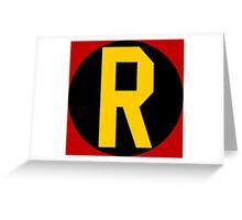 Robin '66 Symbol Greeting Card