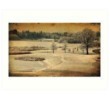 Dromoland Castle Hotel Golf Club, County Clare,Ireland Art Print