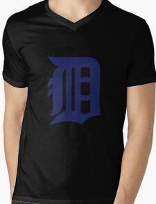 Detroit Tigers Mens V-Neck T-Shirt