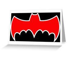 Batmobile '66 Symbol Greeting Card