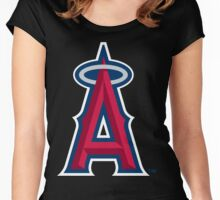 Los Angeles Angels Women's Fitted Scoop T-Shirt