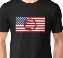 Hotline Miami: 50 Blessings On US Flag Unisex T-Shirt