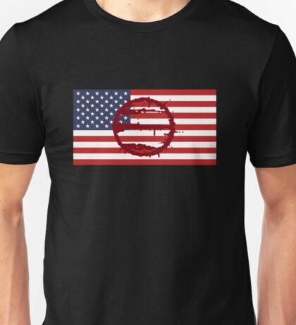 Hotline Miami: 50 Blessings On US Flag Unisex T-Shirt