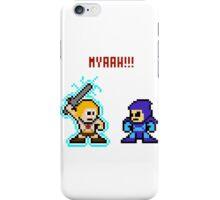 He-man, Skeletor fight! MYAAAAAAAAHH! iPhone Case/Skin