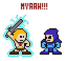 He-man, Skeletor fight! MYAAAAAAAAHH! by miffed