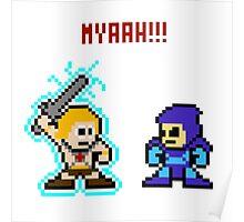 He-man, Skeletor fight! MYAAAAAAAAHH! Poster