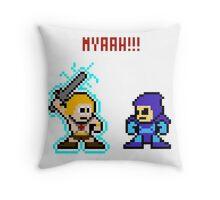 He-man, Skeletor fight! MYAAAAAAAAHH! Throw Pillow