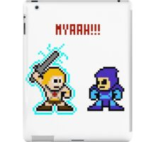 He-man, Skeletor fight! MYAAAAAAAAHH! iPad Case/Skin