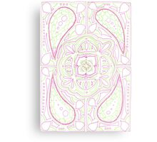 Psychedelic Lily Metal Print