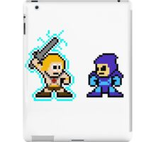 He-man, Skeletor fight! MYAAAAAAAAHH! no text iPad Case/Skin