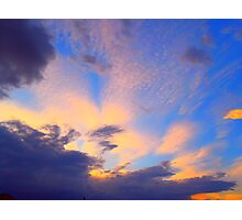 clouds n colour  (soul-search)  #3 Photographic Print