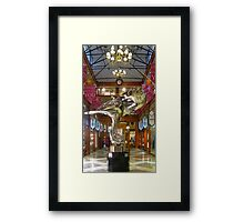 A Whirling Dervish Reflects Framed Print