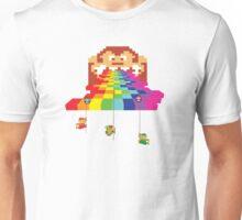 8 Bit Nintendo Rainbow Unisex T-Shirt