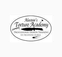 Alastair's Torture Academy (blood splatter)  Unisex T-Shirt