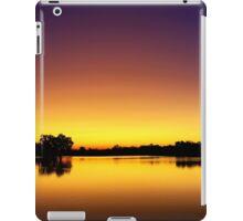 Sunset at Longreach Waterhole iPad Case/Skin