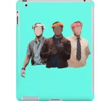 chris pratt flower crown iPad Case/Skin