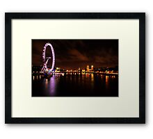 WESTMINSTER EYE Framed Print
