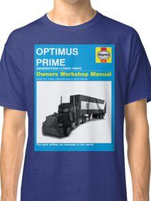 Owner Manual G1 Optimus Prime Classic T-Shirt