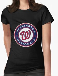 Washington Nationals Womens Fitted T-Shirt