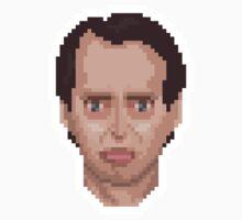 Steve Buscemi Pixel Art Illustration Kids Clothes