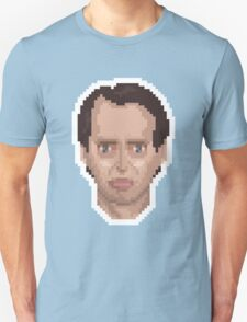Steve Buscemi Pixel Art Illustration Unisex T-Shirt