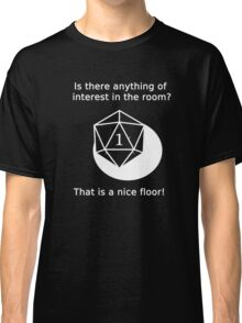D20 Critical failure - Perception Classic T-Shirt