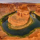 A Long Way Down: Horseshoe Bend by Clayhaus