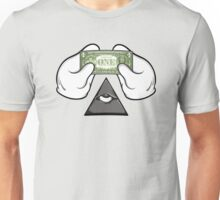 One Dollar Bill Unisex T-Shirt
