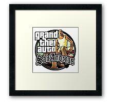GTA SA Framed Print