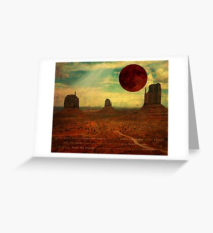 The Prophet:  On Death Greeting Card