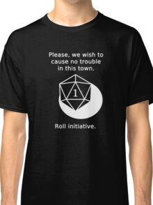 D20 Critical failure - Persuasion Classic T-Shirt