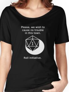 D20 Critical failure - Persuasion Women's Relaxed Fit T-Shirt