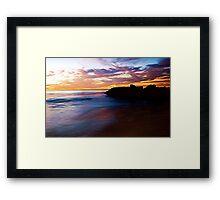 RAINBOW OCEAN Framed Print
