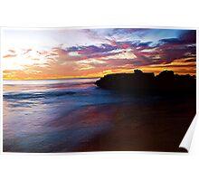 RAINBOW OCEAN Poster