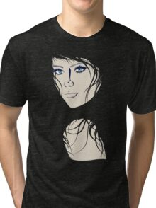 Fashion Portrait Tri-blend T-Shirt
