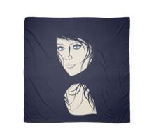 Fashion Portrait Scarf