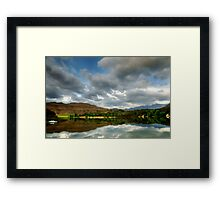 Naverone reflection - South Africa Framed Print