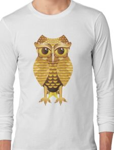 Gold Owl Long Sleeve T-Shirt