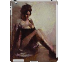 Mademoiselle Cherie by Mary Bassett iPad Case/Skin