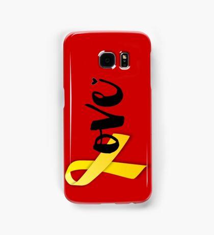 Red Friday - Yellow Ribbon Samsung Galaxy Case/Skin