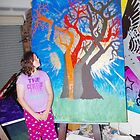 My next Painting (Tree of Life) by LESLEY B