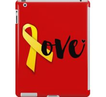 Red Friday - Yellow Ribbon iPad Case/Skin
