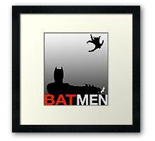 Batmen Framed Print