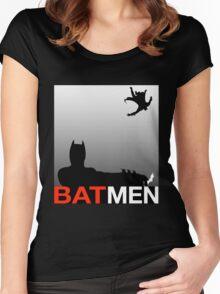 Batmen Women's Fitted Scoop T-Shirt
