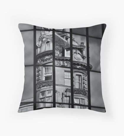 Why Picasso gave up on architecture  Throw Pillow