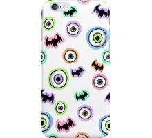 Bats 'n' Eyeballs iPhone Case/Skin
