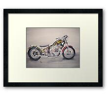 Triumph Bobber Framed Print