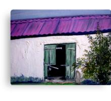 An old barn on a farm in Kradouw, Cape. Canvas Print