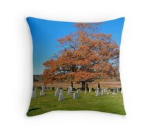 St. Jean Baptiste Cemetery Throw Pillow