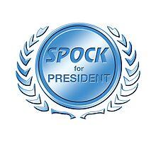 Spock for President Photographic Print